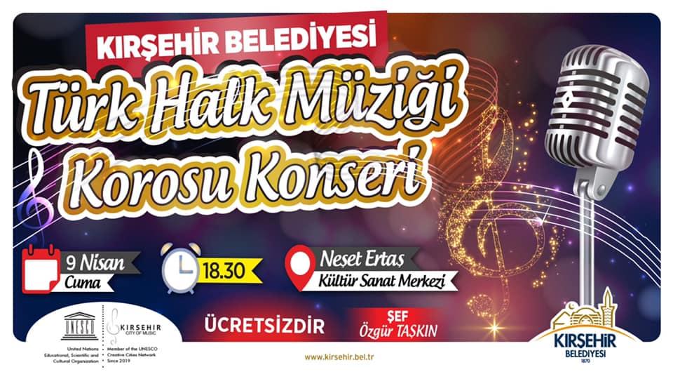 Kırşehir Belediyesi Türk Halk Müziği Korosu Konseri
